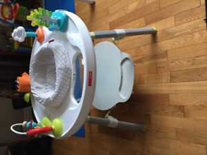 Exersaucer & Baby Swing.