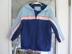 Woodland Girl's Spring/Fall Windbreaker size 5