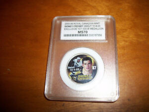 05-06 Royal Canadian Mint SIDNEY CROSBY 1st Issue