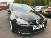 2008 (58) Volkswagen Golf 2.0TDI GT 6 Speed Manual ** Service History **