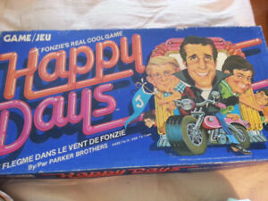 HAPPY  DAYS  BOARD  GAME ... 1976
