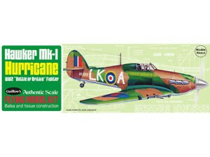 GUILLOWS Hawker MKI Hurricane flying model KIT