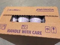 Boxes of Fortisip for sale