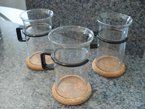 Bodum coffee & tea glasses (NEW) - St. Albert