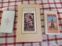 The Enchanted Tarot Book and Card Set