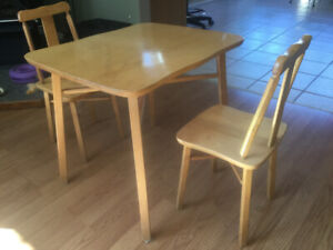 Childrens Table and Chairs