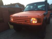 Land Rover discovery 1 heavy duty front solid bumper