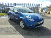 Renault Clio 1.2T 16v 100 2009MY Dynamique ONLY 61000 MILES FROM NEW