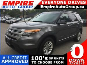 2011 FORD EXPLORER XLT * AWD * LEATHER * 2 DVD * PANO SUNROOF *