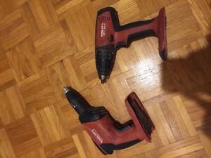 Hilti drill +  screw gun 22A / Perceuse et Visseuse Hilti 22A