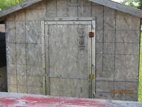 8x8 woodshed