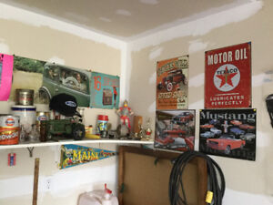Man cave collective items