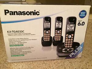 Panasonic - téléphone sans fil 3 combinés