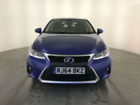 2015 LEXUS CT 200H ADVANCE HYBRID AUTOMATIC 1 OWNER SERVICE HISTORY FINANCE PX