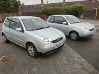 Volkswagen Lupo 1.4 automatic 2002MY S 54k 16 services