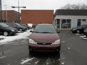 2007 Ford Focus SES Wagon safety and E test