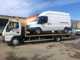 EE BREAKDOWN RECOVERY CAR VAN 4X4 TRANSPORTATION ACCIDENT TOW TRUCK