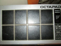 ***VINTAGE ROLAND OCTOPAD PAD-8 PROJECT W/MANUAL!!!***