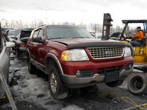2002 Ford Explorer Now Available At Kenny U-Pull Cornwall