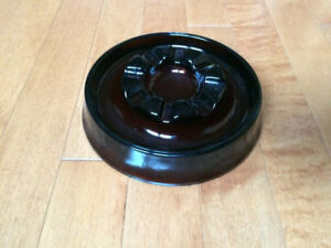 Vintage brown ashtray