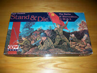 WWII Boardgame - Stand & Die The Battle of Borodino, 1941