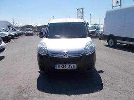 Vauxhall Combo 2000 1.6 Cdti 16V 105Ps H1 Van DIESEL MANUAL SILVER (2014)