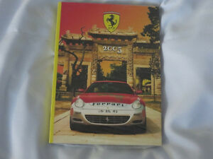 2005 Ferrari Factory Yearbook Formual One Racing + Still Sealed!