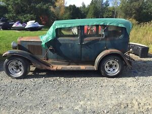 chevrolet sedan 4 porte 1930 barn find