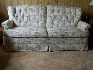 Couch, Chair and Footstool (3 pieces)