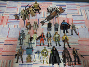 Star Wars Power of the Force Figures. Rebels and Endor