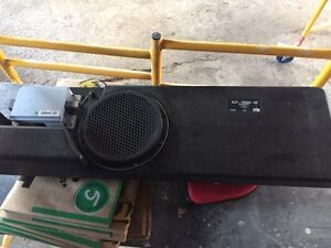 Factory amp and sub f150 truck