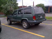 2000 Jeep Cherokee Sport - Winter tires included