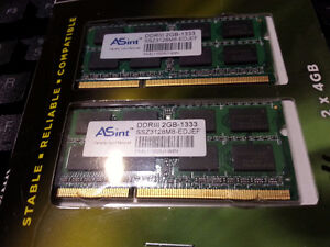 4 GB DDR3 DDRIII 1333 Laptop Ram