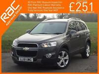 2012 Chevrolet Captiva 2.2 VCDI Turbo Diesel 184 BHP LTZ 6 Speed 4x4 4WD 7-Seate