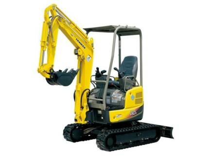 1.7 ton excavator on trailer only $750/week