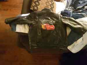 Leather Bomber fall/winter Jacket