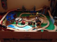 Thomas the train table and track
