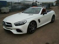 2016 Mercedes-Benz SL Class SL 400 AMG Line 9G-Tronic DAMAGED SALVAGE REPAIRABLE