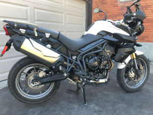 2014 Triumph Tiger 800 with ABS