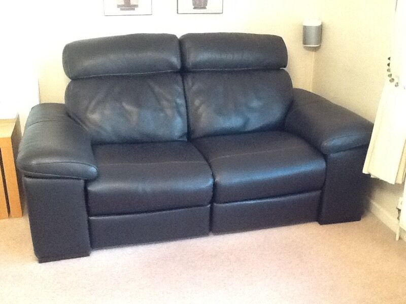 POLO DIVANI MERRY 3 SEATER AND 2 SEATER ELECTRIC RECLINER LEATHER ...