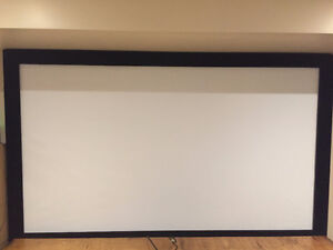 "Elunevision 84"" Fixed-Frame Projector Screen"