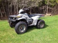 4 wheeler 500cc Polaris