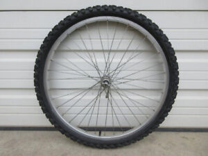 """26"""" Alloy Front Bike Wheel -- with Tire & Tube"""