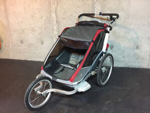 Chariot Cheetah Double Running Stroller