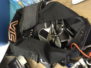 VIC hockey bag with wheels