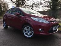 2012/62 Ford Fiesta 1.4TDCi (70ps) DPF Zetec 5dr, Hot Magenta, Only 22k miles