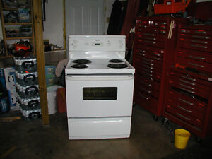 30 Inch Moffat Electric Stove