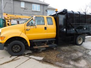 2006 FORD F650 ARBORIST DUMP BOX ONLY 42,450KMS