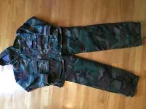 Camoflage hunting suit XL