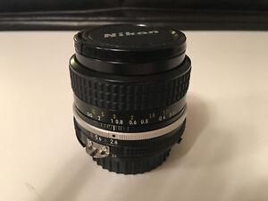 Nikon 35mm f/2.8 AI Lens